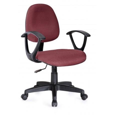 Sedia poltrona da ufficio per scrivania girevole con for Sedia ufficio ruote