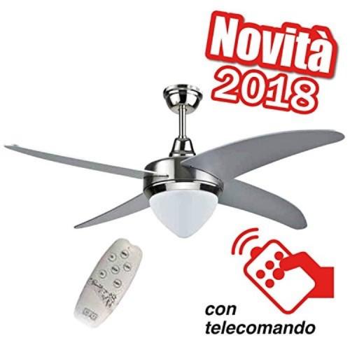 Ventilatore Da Soffitto Con Telecomando Brico Montemurro
